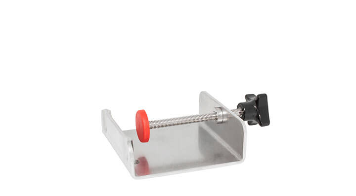 Bath attachment clamp