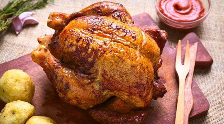 Pickled chicken sous vide