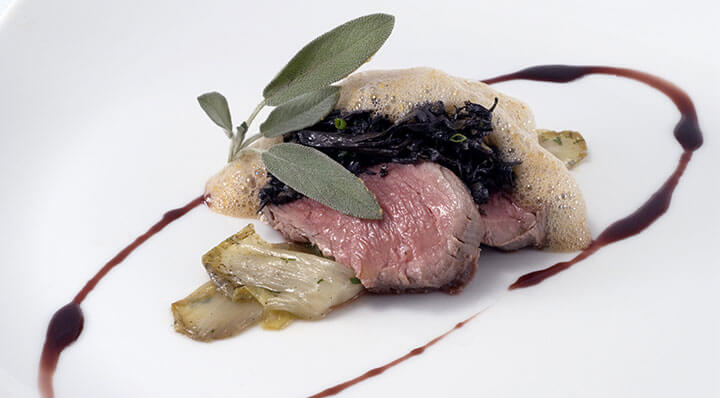 "Sous vide duck breast ""Cardonnade""Entenbrust Cardonnade Chrissalans"