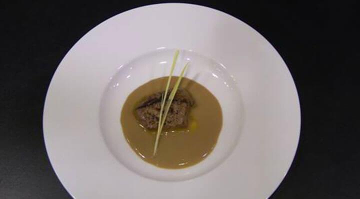 Pâté de foie d'oie sous videGaeenseleberpastet Alvinleung