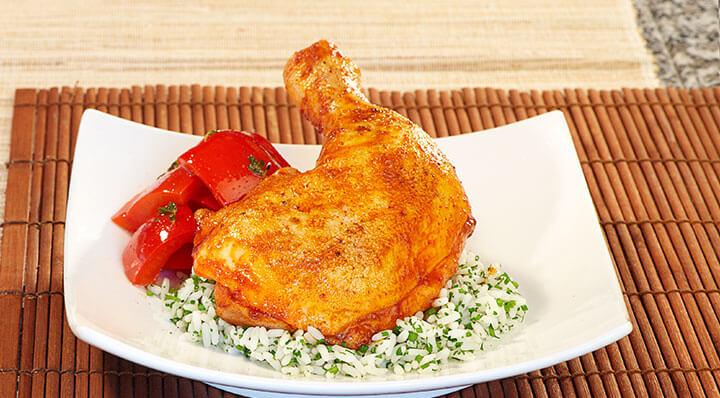 Cuisses de poulet sous videHaenchenkeule Heikoantoniewicz