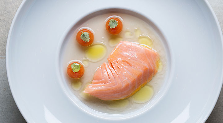 Ikarimi Salmon  sous videIkarim Lachs Timraue