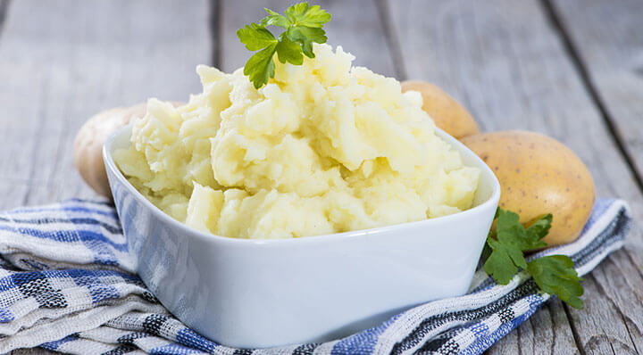 Mashed potatoes sous videKartoffelpueree Rezept Effilee Fotolia 59883029