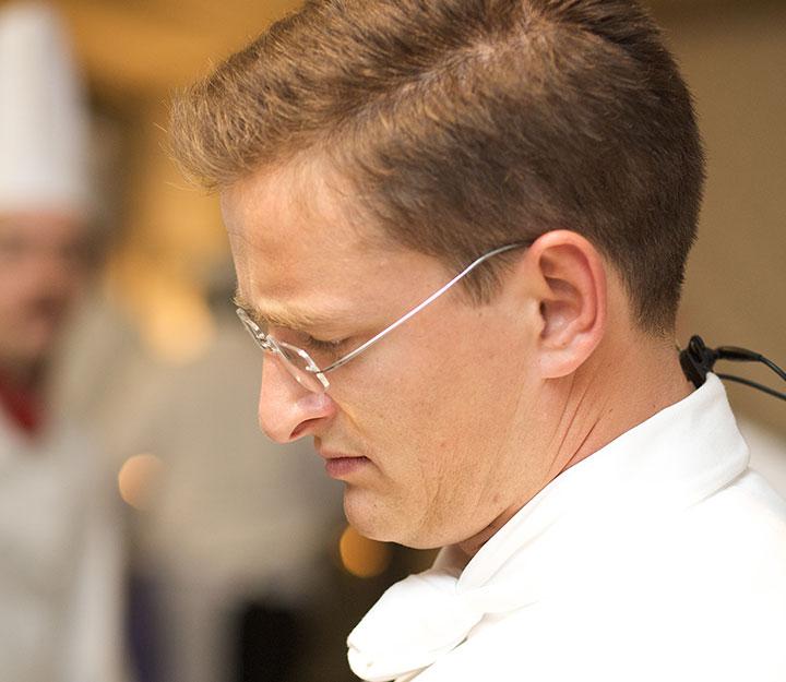 Sous vide chef Markus SchumacherMarkus Schumacher
