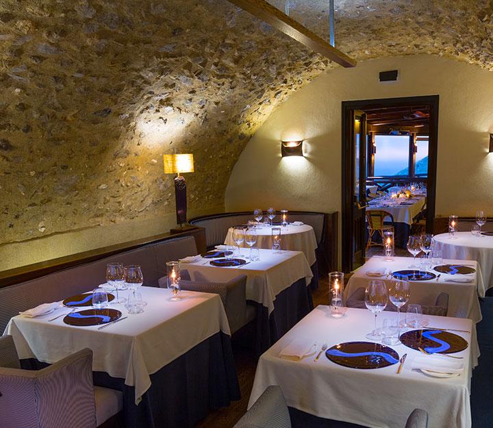 Sous vide restaurant Monastero SantaMonastero Santa Rosa 03