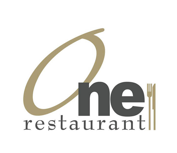 Sous vide restaurant OneRestaurant One Logo