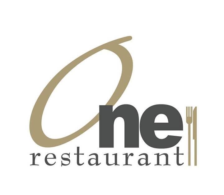 Sous vide restaurant OneRestaurant One Logo