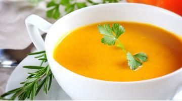 Butternut squash soup sous videButternusskuerbis Suppe Elizabethkearny Fotolia 17403680