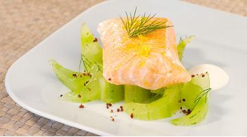 Sous vide salmon with dillLachs Dill Heikoantoniewicz