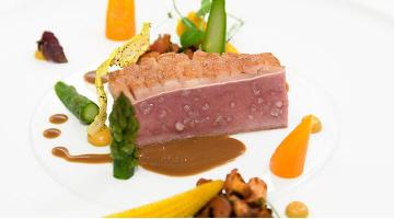 Saddle of lamb Limousin sous videLammruecken Marcrennhack