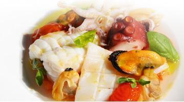 Fish and seafood stew sous videMeeresfruechte Eintopf Daniloange