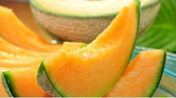 Marinated melon slices sous videMelonenspalten Mariniert Miessmer