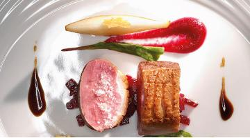 Miral duck breast sous vide