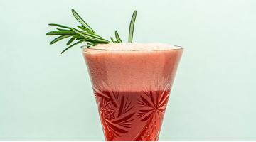 Rosemary Royal - cocktail sous videRosemary Royal Stephanhinz