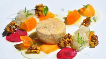 Smoked foie gras torchon sous videStopfleber Benjamincross