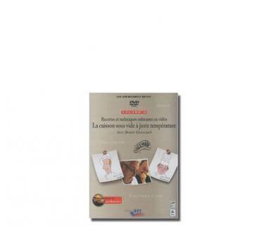 DVD : La cuisson sous vide à juste température avec Bruno GoussaultDvd Goussault Fr