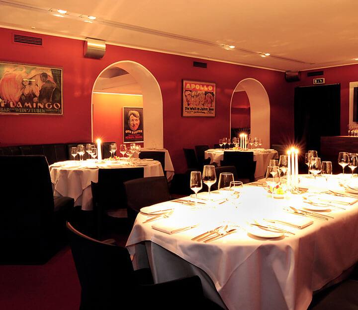 Sous vide restaurant TIGER-GOURMETRESTAURANT Tigerpalast